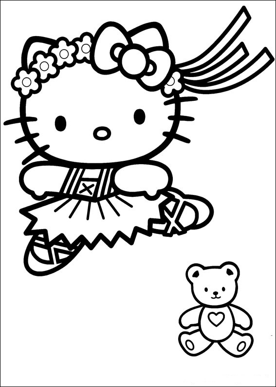 kitty coloring cute animal coloring pages best coloring pages for kids coloring kitty