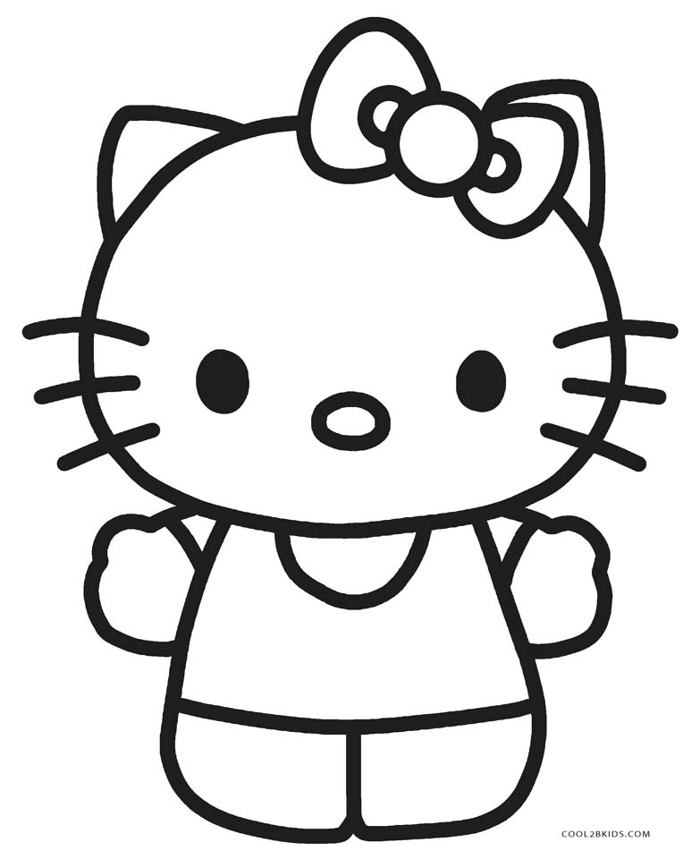 kitty coloring cute kitten coloring pages idea animal coloring pages kitty coloring