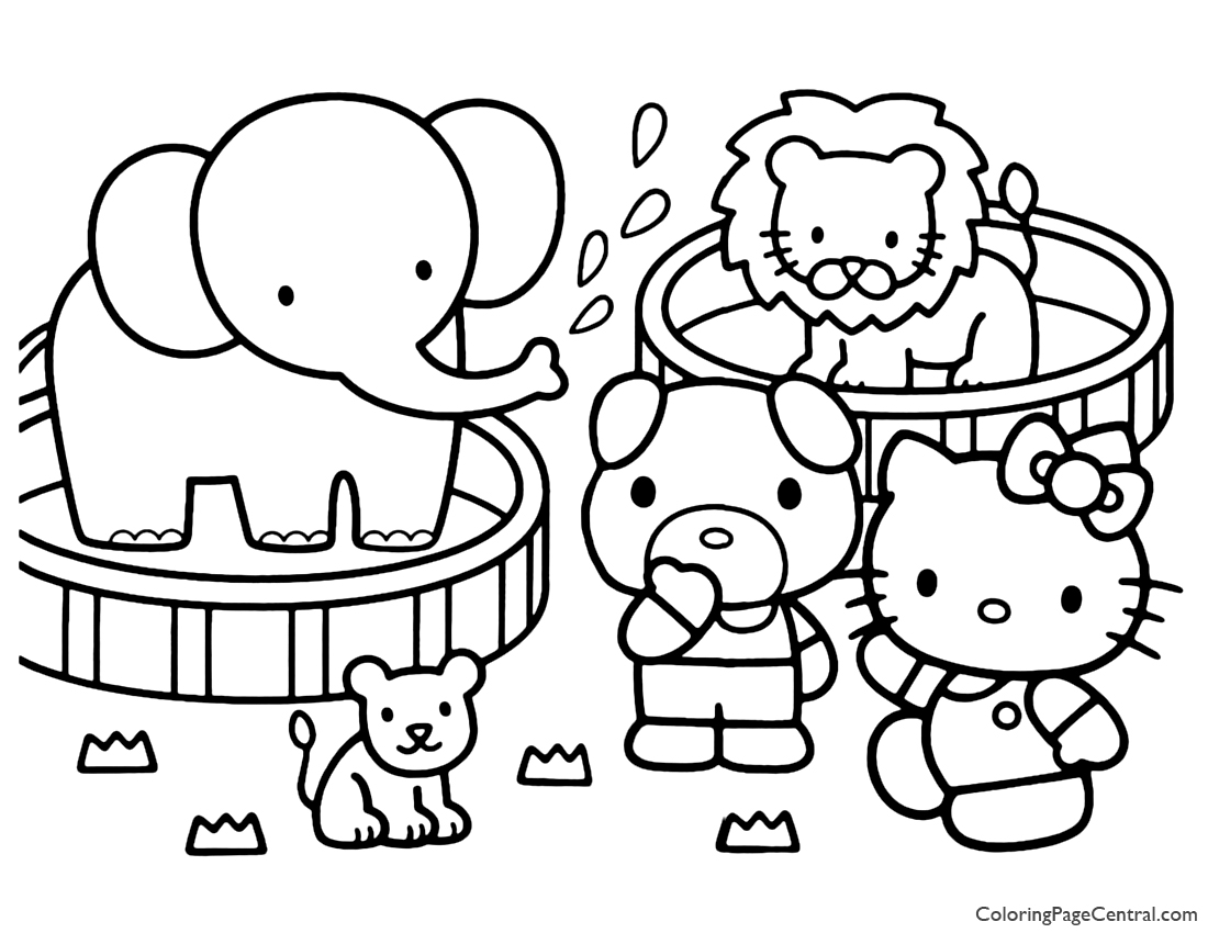 kitty coloring free printable hello kitty coloring pages coloring home coloring kitty