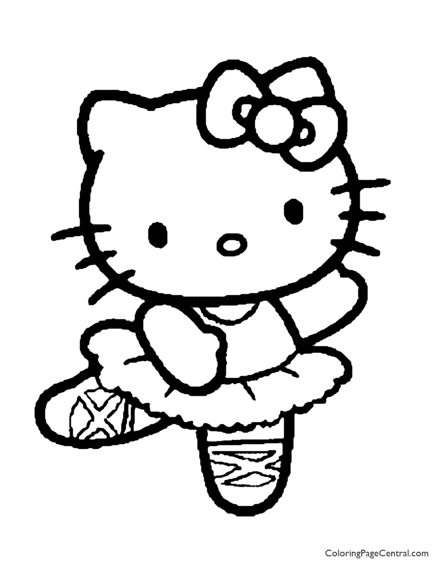 kitty coloring kitten coloring pages kitty coloring