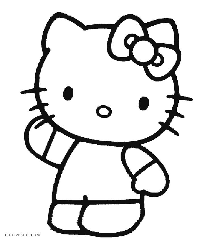 kitty coloring kitten coloring pages kitty coloring 1 1