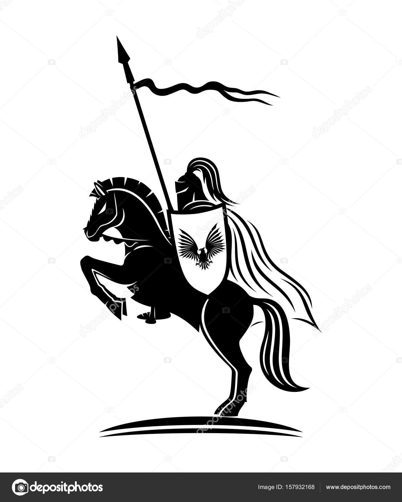 knight on a horse knight medieval warrior free image on pixabay on knight horse a