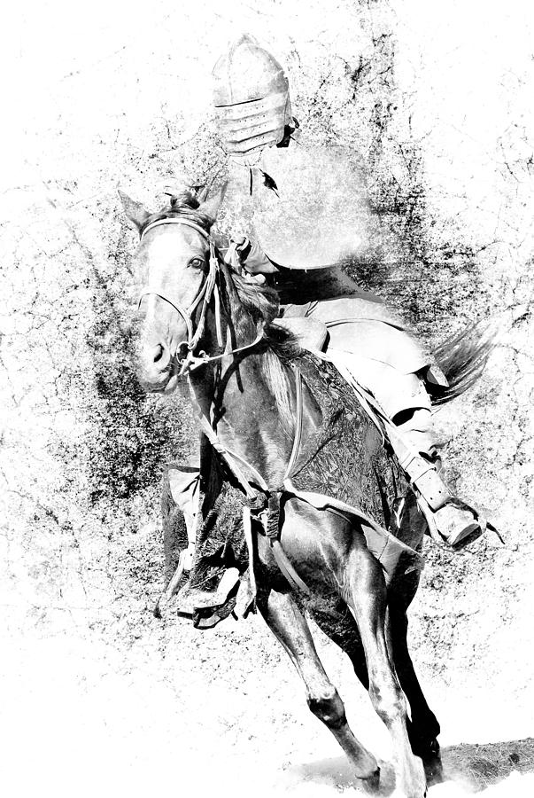 knight on a horse knight with lance riding horse stock illustration on horse knight a