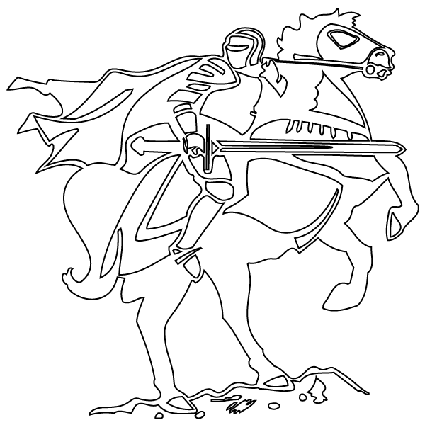 knight on horse coloring page 17 best images about vbs coloring pages on pinterest horse knight page coloring on