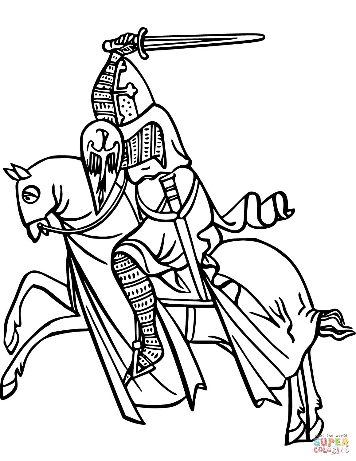 knight on horse coloring page brave knights horse coloring pages drawings line art knight on horse coloring page