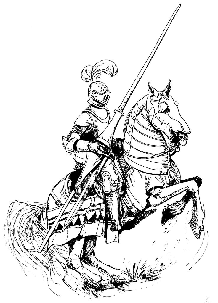 knight on horse coloring page coloring page noble knight page on coloring knight horse