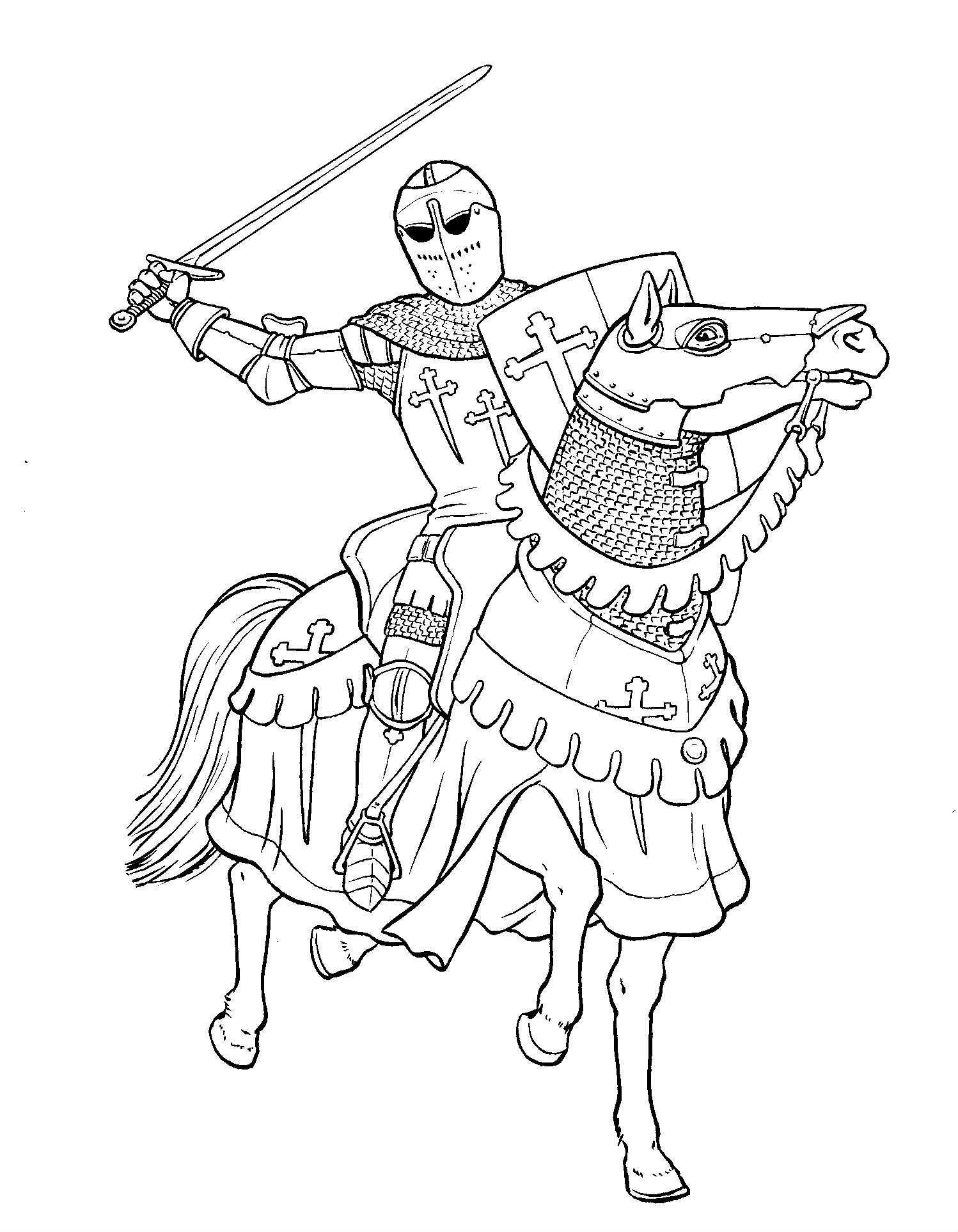 knight on horse coloring page knight on horse coloring page page knight on horse coloring