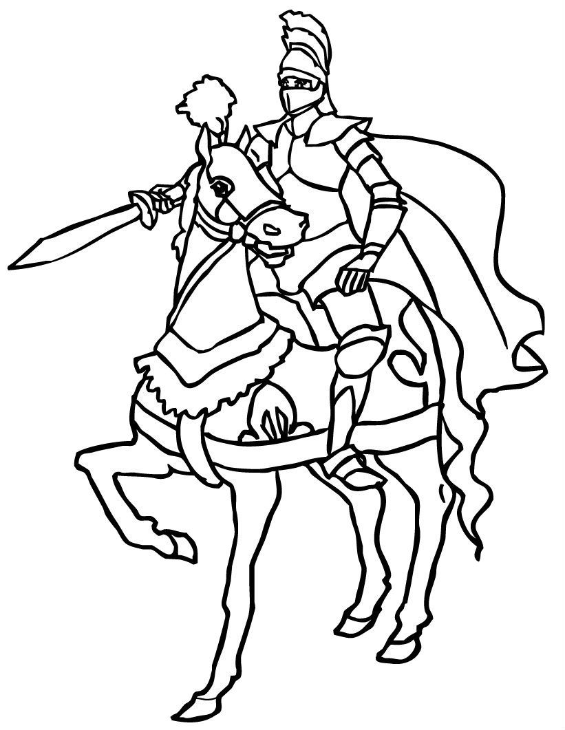 knight on horse coloring page knight rearing o his horse in middle ages coloring page on page horse coloring knight