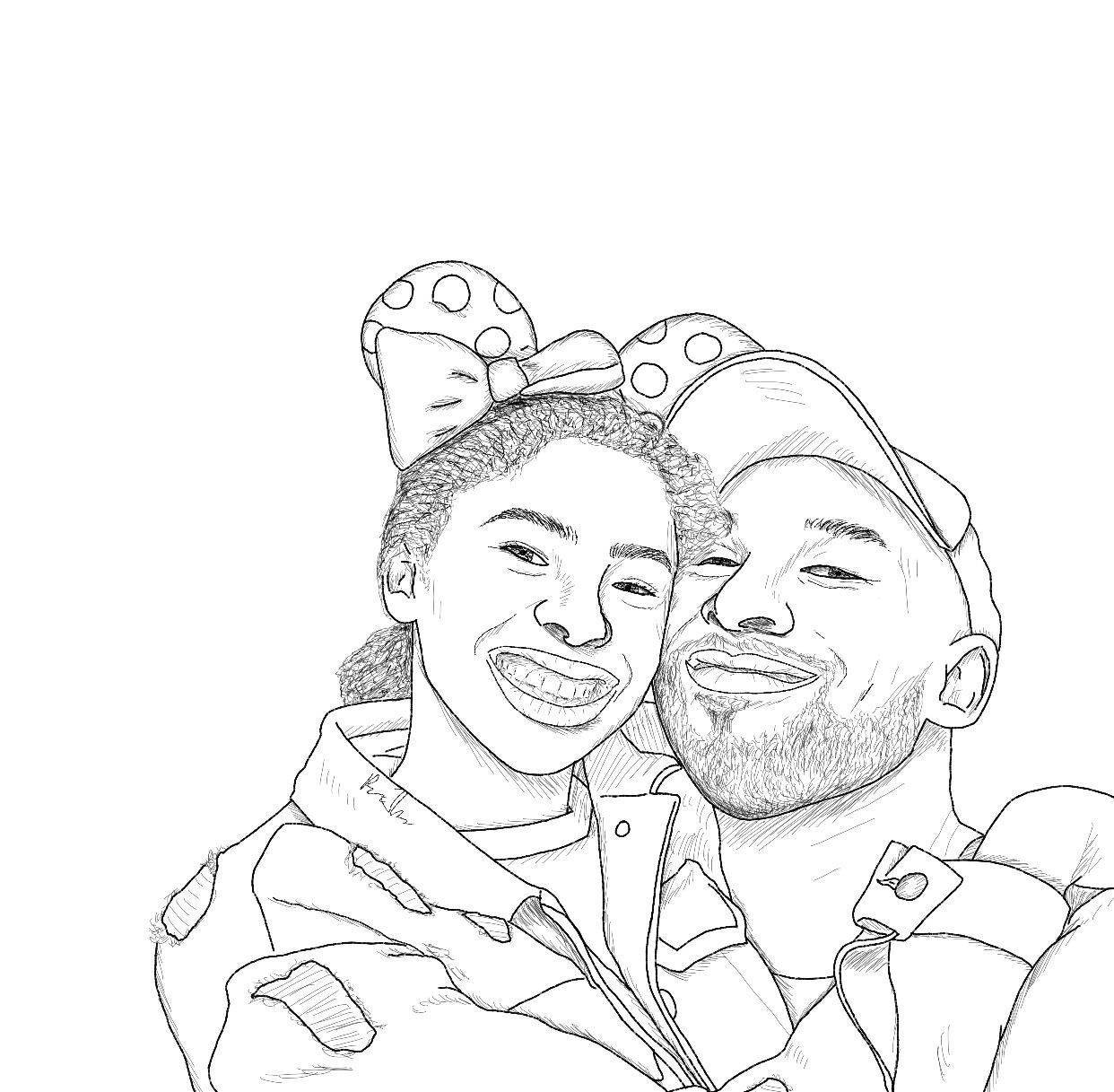 kobe bryant coloring pages kobe bryant cartoon drawing free download on clipartmag kobe pages coloring bryant