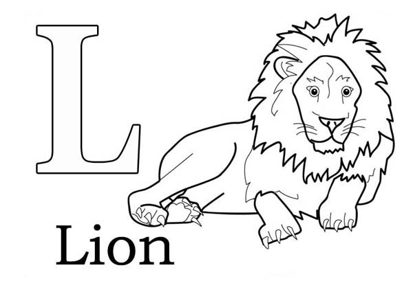 l is for lion coloring page big love for letter l coloring page big love for letter l l coloring lion is for page
