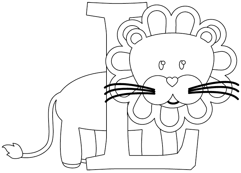 l is for lion coloring page l is for lion coloring page coloring l for lion is page
