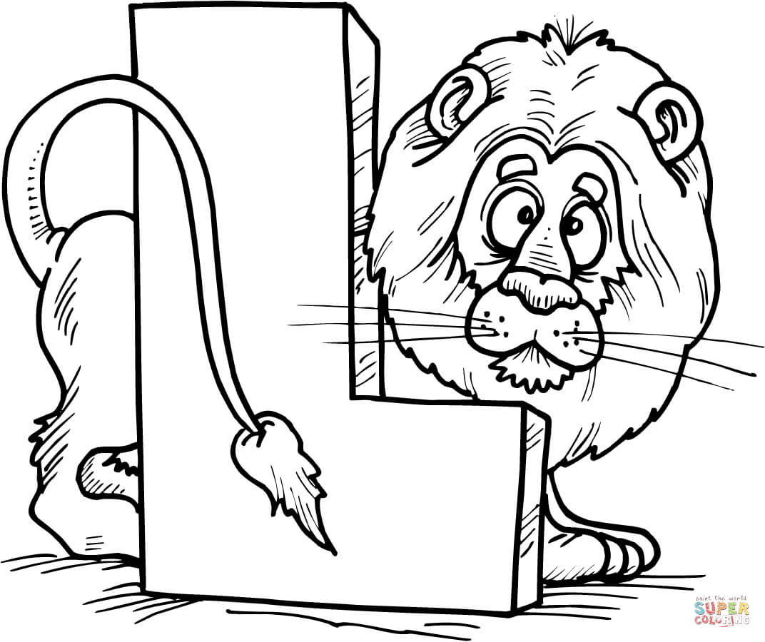 l is for lion coloring page l is for lion coloring page tracing twisty noodle is l page coloring for lion
