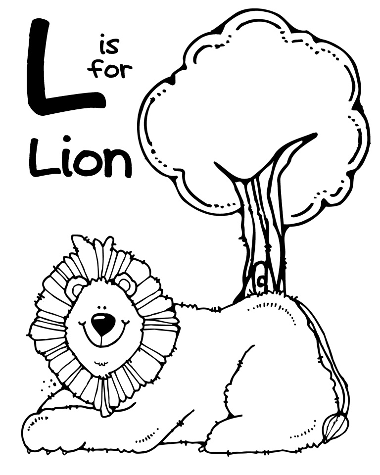 l is for lion coloring page little inspirations september 2012 page is for lion l coloring