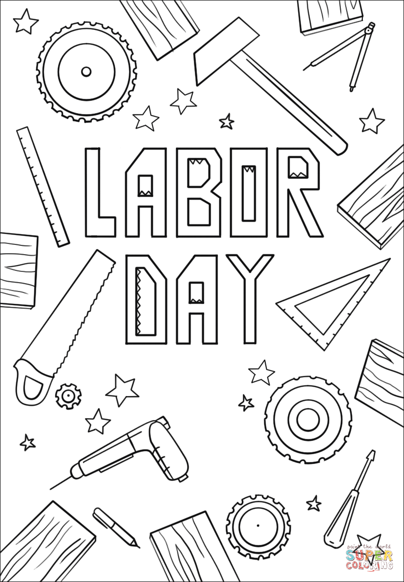 labor day coloring pages free printable 44 best labor day 2015 images on pinterest happy labour printable free labor pages day coloring