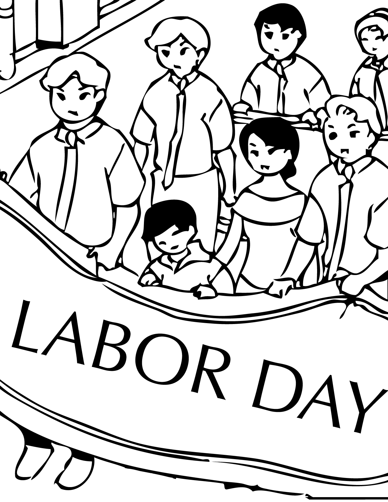labor day coloring pages free printable free printable labor day coloring pages printable day coloring pages labor free