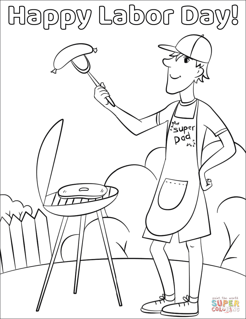 labor day coloring pages free printable labor day coloring pages for kids preschool and kindergarten labor free pages day printable coloring