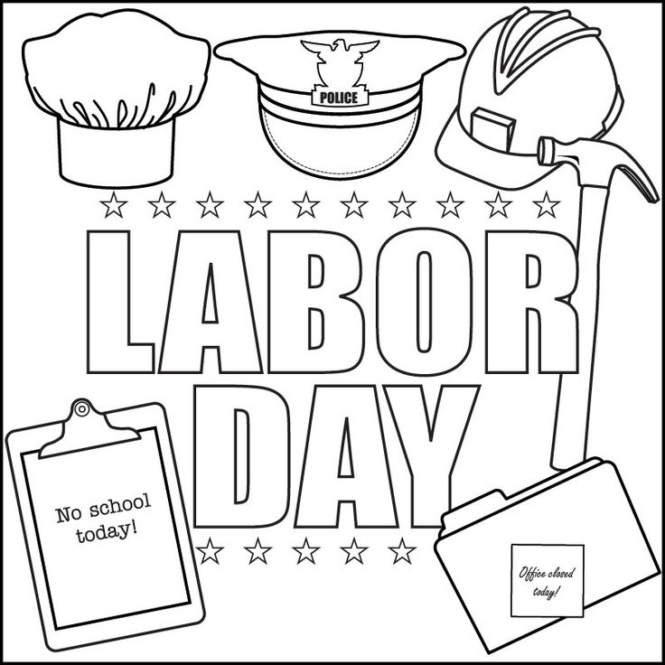 labor day coloring pages free printable labor day coloring pages getcoloringpagescom labor coloring day pages free printable