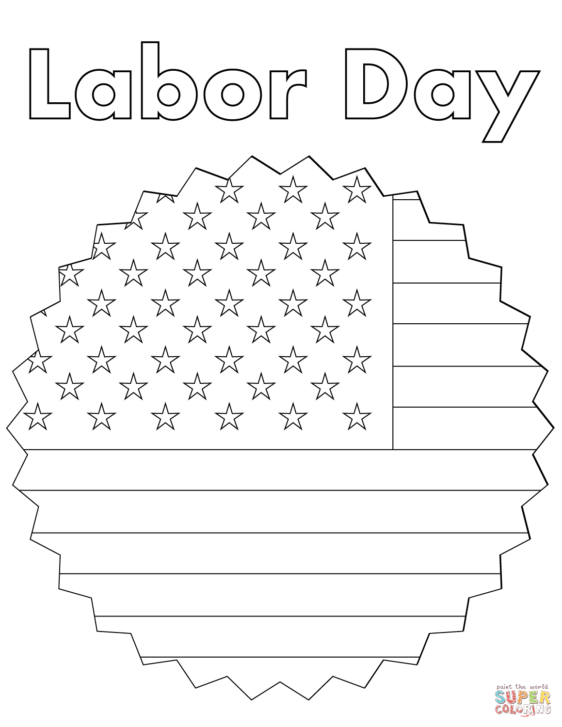labor day coloring pages free printable labor day coloring pages getcoloringpagescom printable free labor coloring pages day