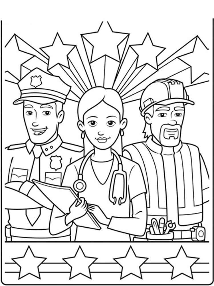 labor day coloring pages free printable labor day salute to you the american worker coloring pages coloring printable free day labor