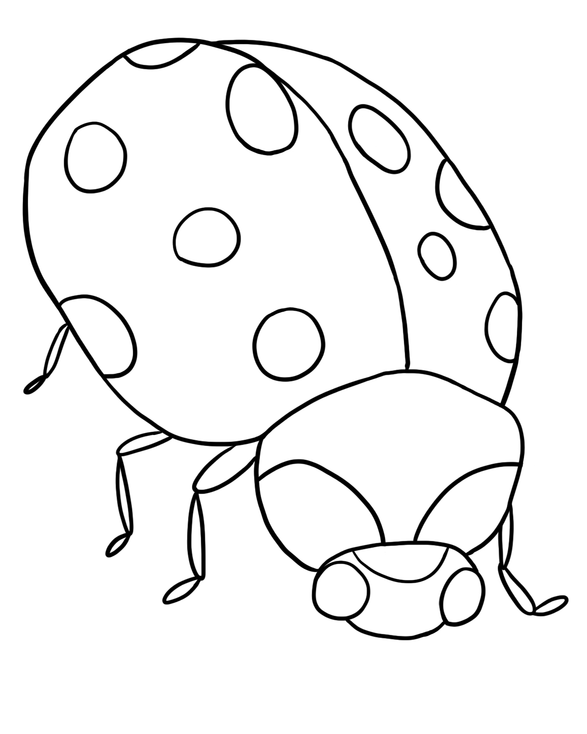 lady bug coloring page ladybug coloring pages birthday printable lady coloring bug page