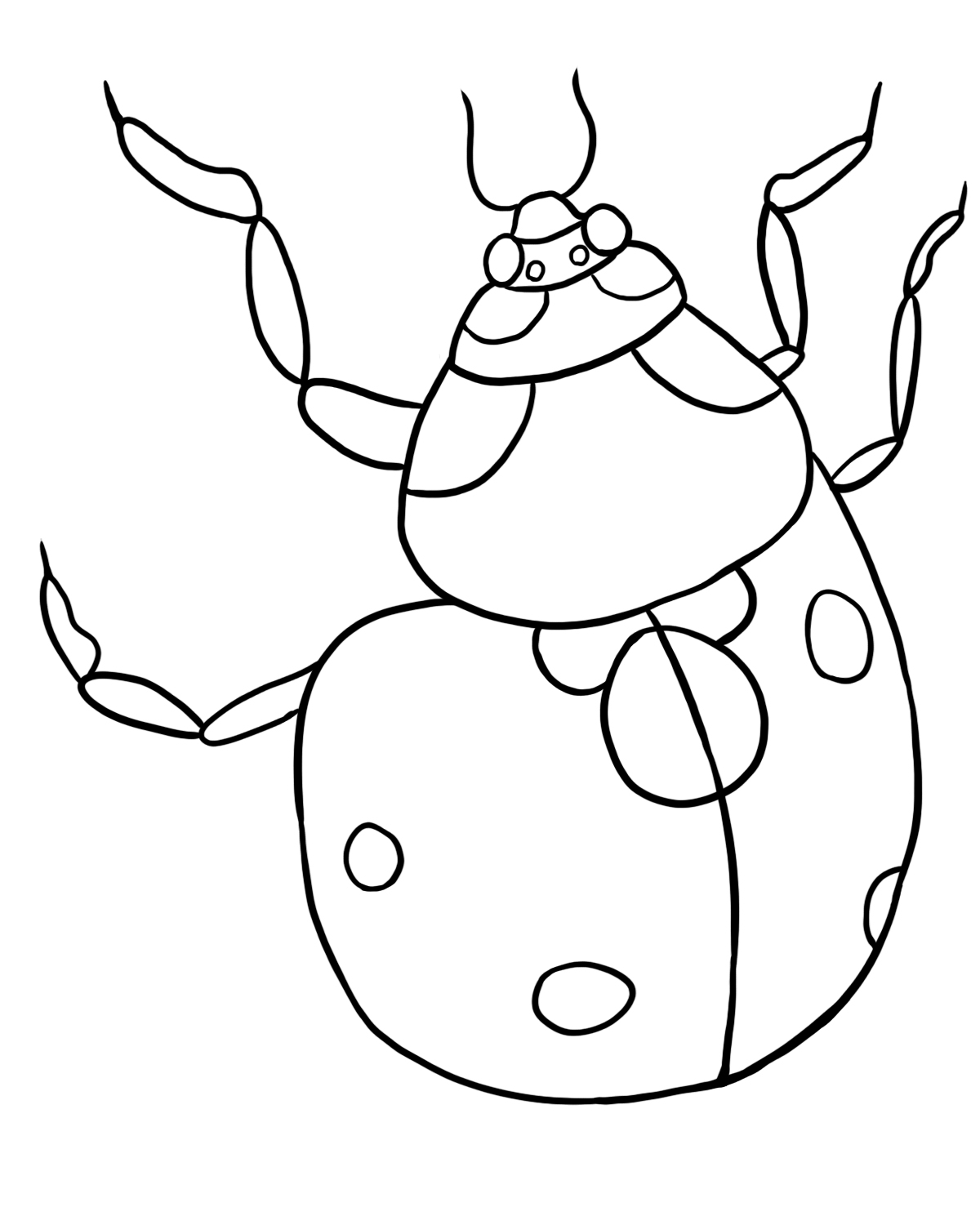 lady bugs coloring pages ladybug coloring pages to download and print for free bugs pages lady coloring