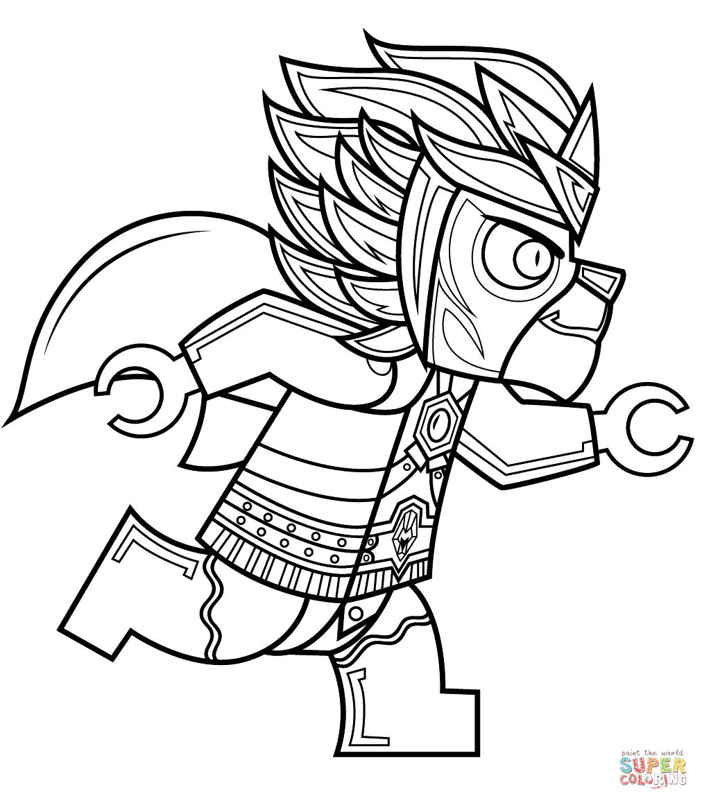 Lego chima coloring pictures