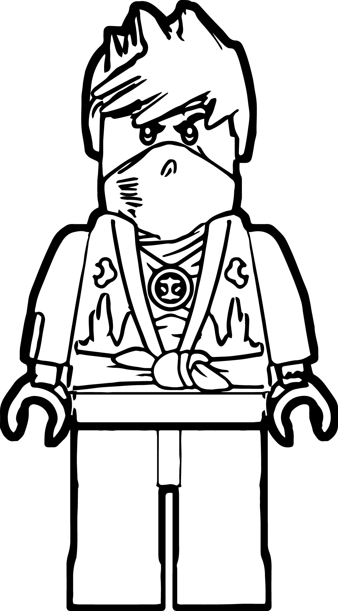 Lego drawings to colour