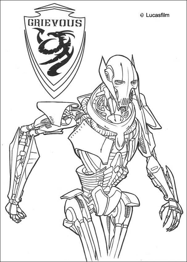 lego general grievous coloring page 103 best coloring pages star wars images on pinterest general lego grievous coloring page