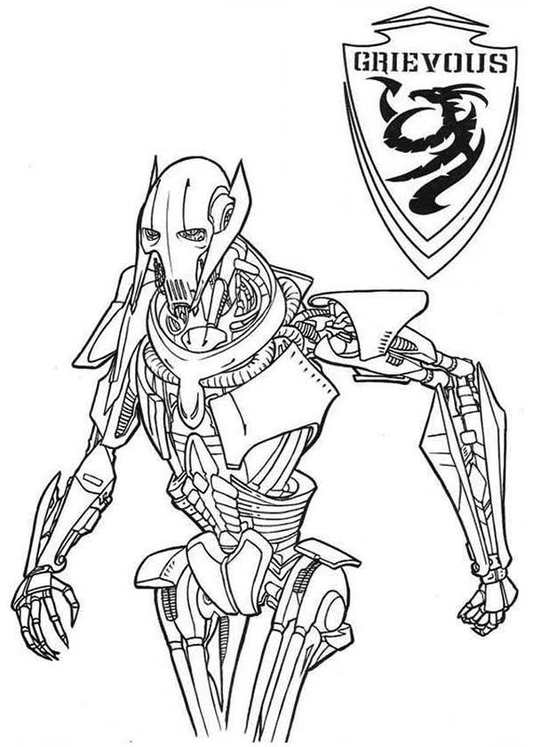 lego general grievous coloring page general grievous coloring page coloring home grievous page general coloring lego
