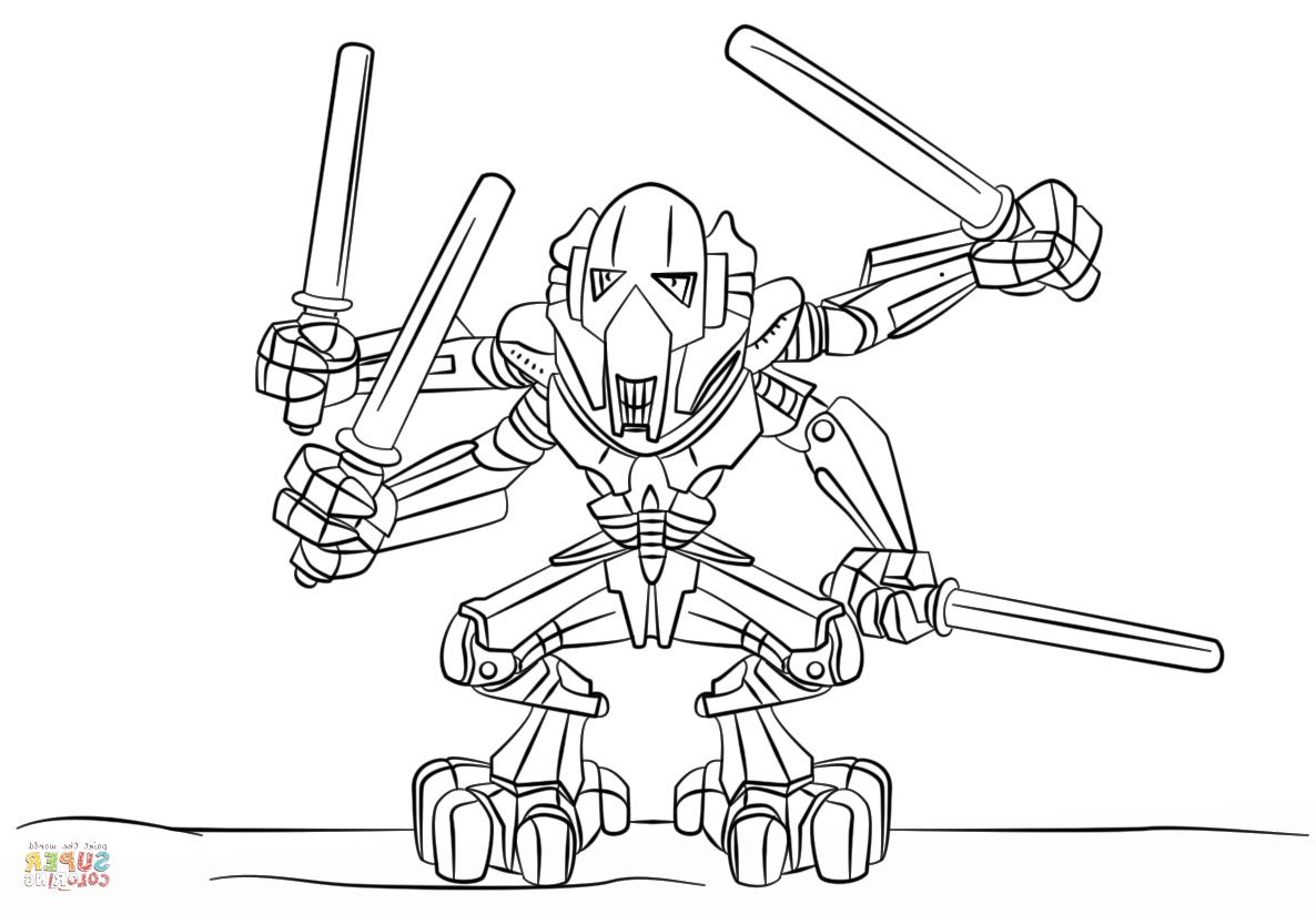 lego general grievous coloring page general grievous coloring pages printable coloring home page coloring lego general grievous