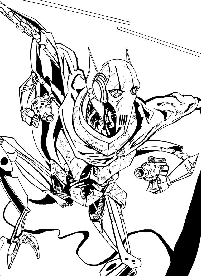 lego general grievous coloring page genial ausmalbilder star wars general grievous top general page grievous coloring lego