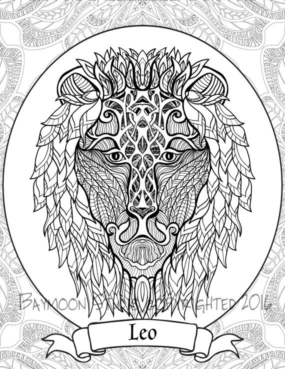 leo the lion coloring pages coloring page pattern zodiac sign leo stock vector leo the lion pages coloring