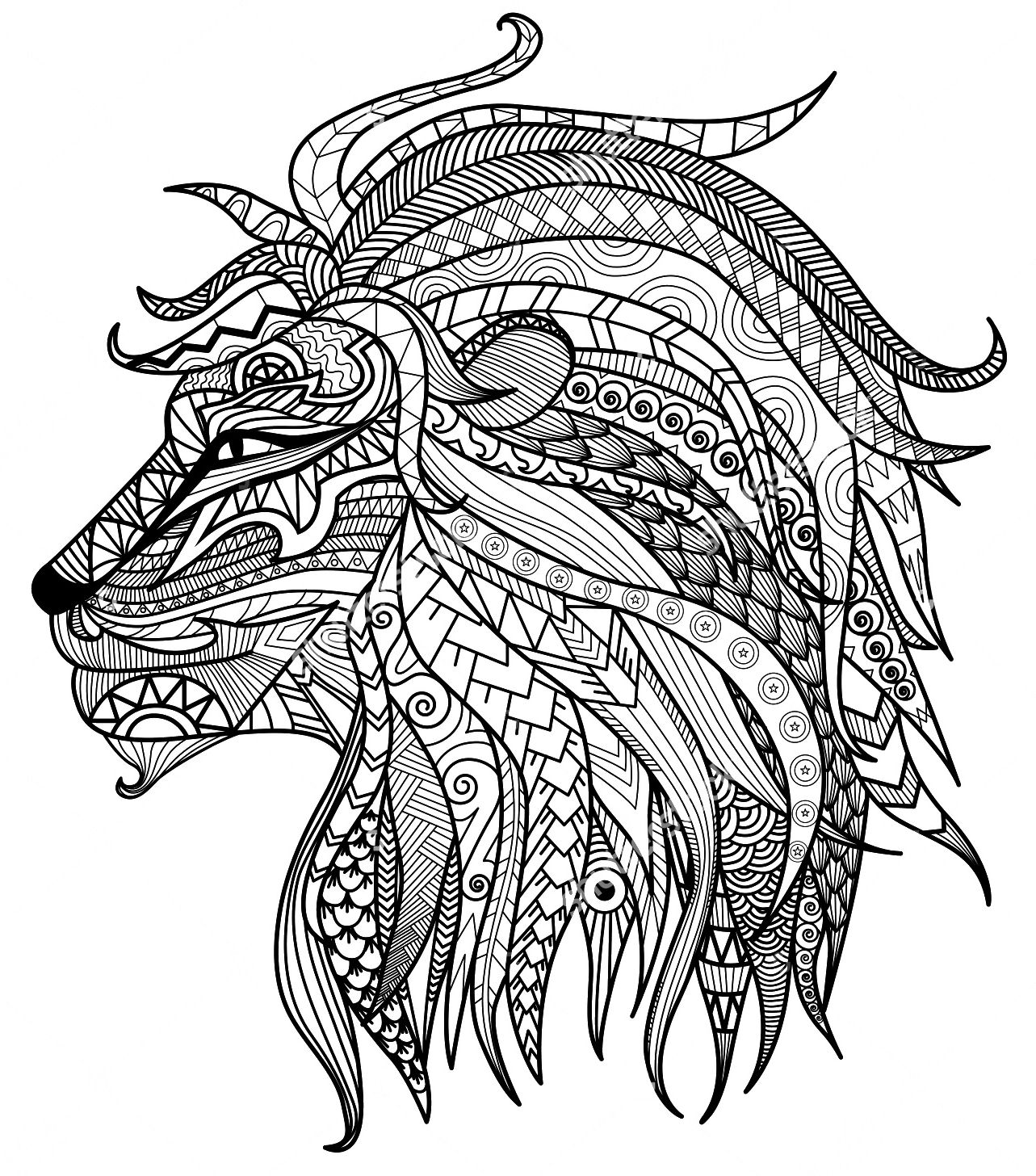 leo the lion coloring pages lovely cartoon lion coloring page free printable pages the coloring leo lion