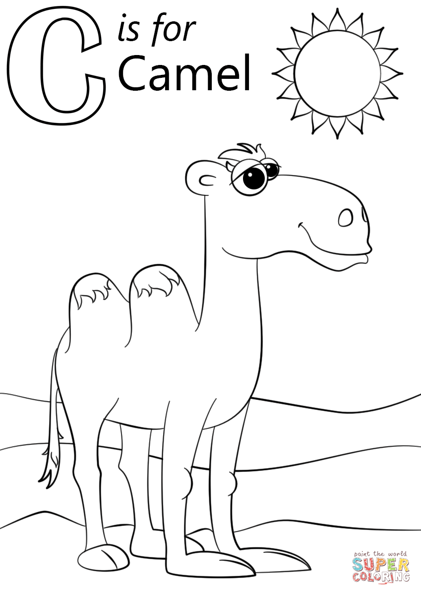 letter c coloring page free letter c printable coloring pages for preschool page letter c coloring