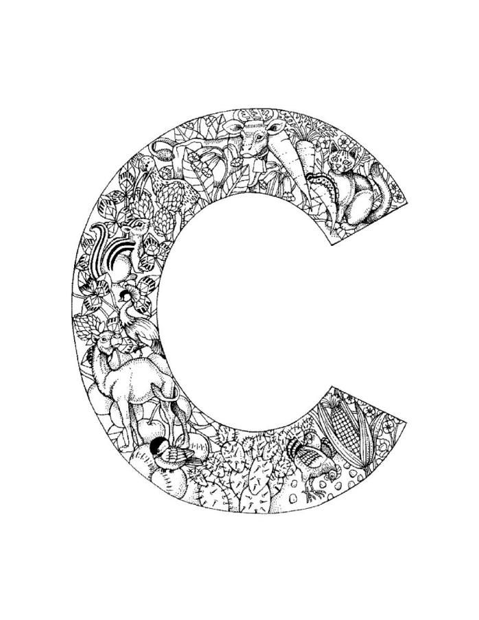 letter c coloring page letter c is for clown coloring page free printable coloring letter c page