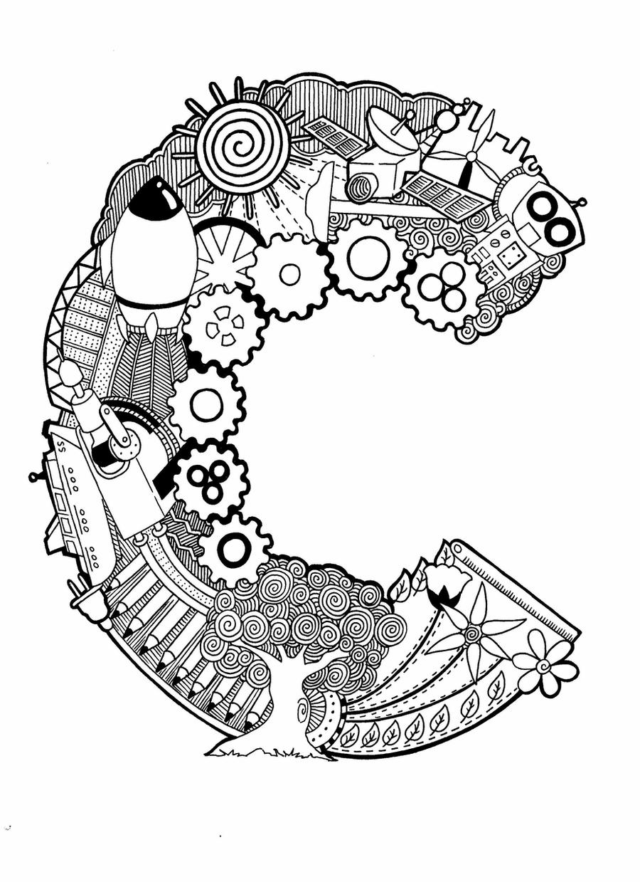 letter c coloring pages for adults alphabet coloring pages alphabet coloring pages adult c adults coloring for pages letter