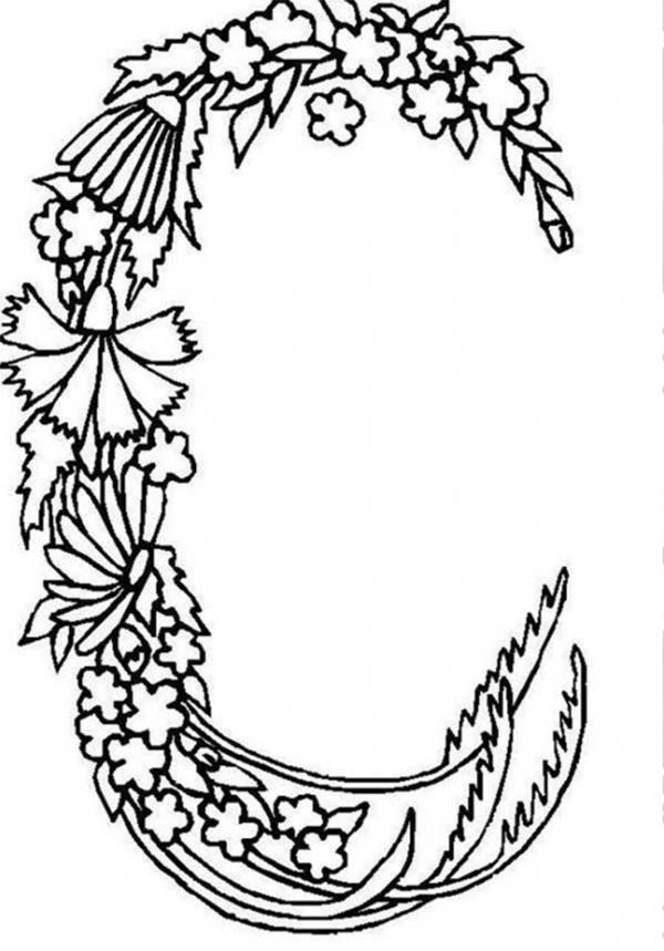 letter c coloring pages for adults download this free floral alphabet letter c coloring pages letter pages for c coloring adults