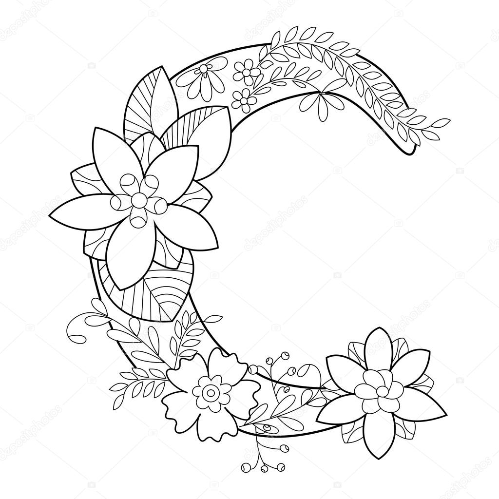 letter c coloring pages for adults kleurplaat letter c afb 21890 for c letter coloring adults pages