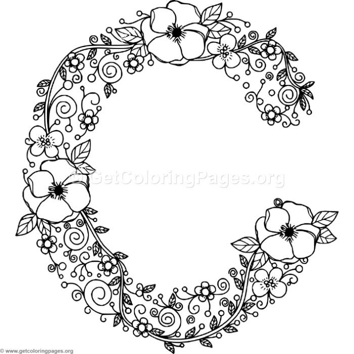letter c coloring pages for adults letter c coloring pages printable coloring home adults for letter c pages coloring