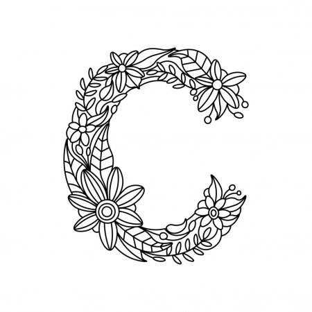 letter c coloring pages for adults things that start with c free printable coloring pages letter for coloring adults pages c