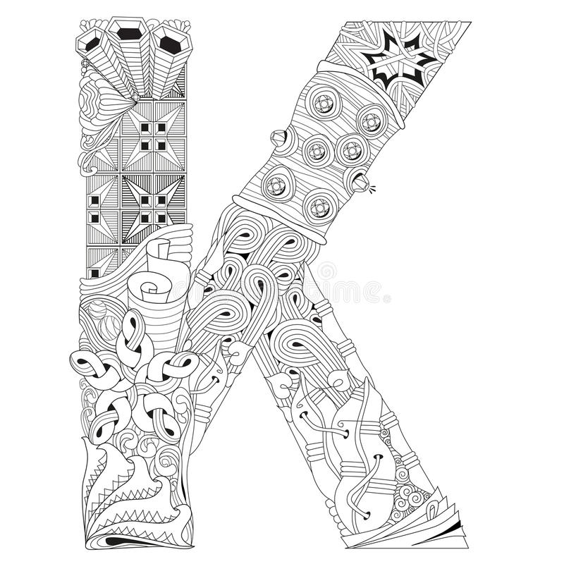 letter k coloring pages for adults letter k coloring page coloring home for coloring letter k adults pages