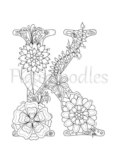 letter k coloring pages for adults letter k coloring pages to download and print for free for k adults pages coloring letter