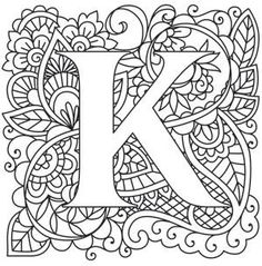 letter k coloring pages for adults letter k photos our top 1000 letter k images page 3 k pages adults letter for coloring