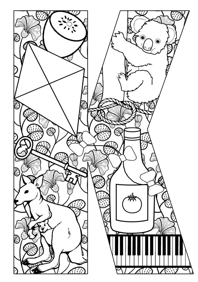 letter k coloring pages for adults numbers and shapes alphabet letter k 410455png 9391024 letter k coloring adults pages for