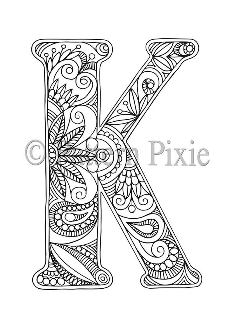 letter k coloring pages for adults plant alphabet letter k coloring pages surfnetkids letter adults pages for coloring k
