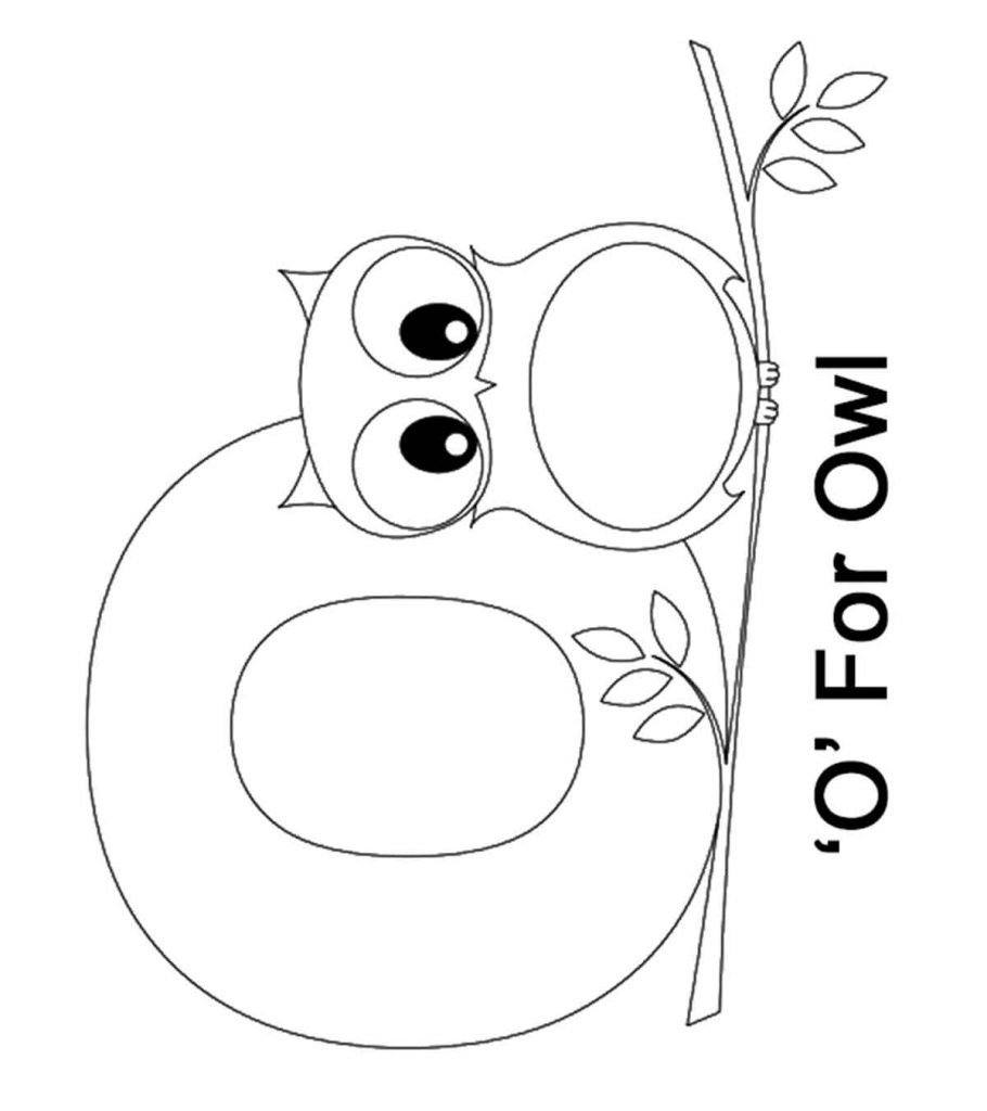 letter o for coloring letter o alphabet coloring pages 3 free printable for letter o coloring
