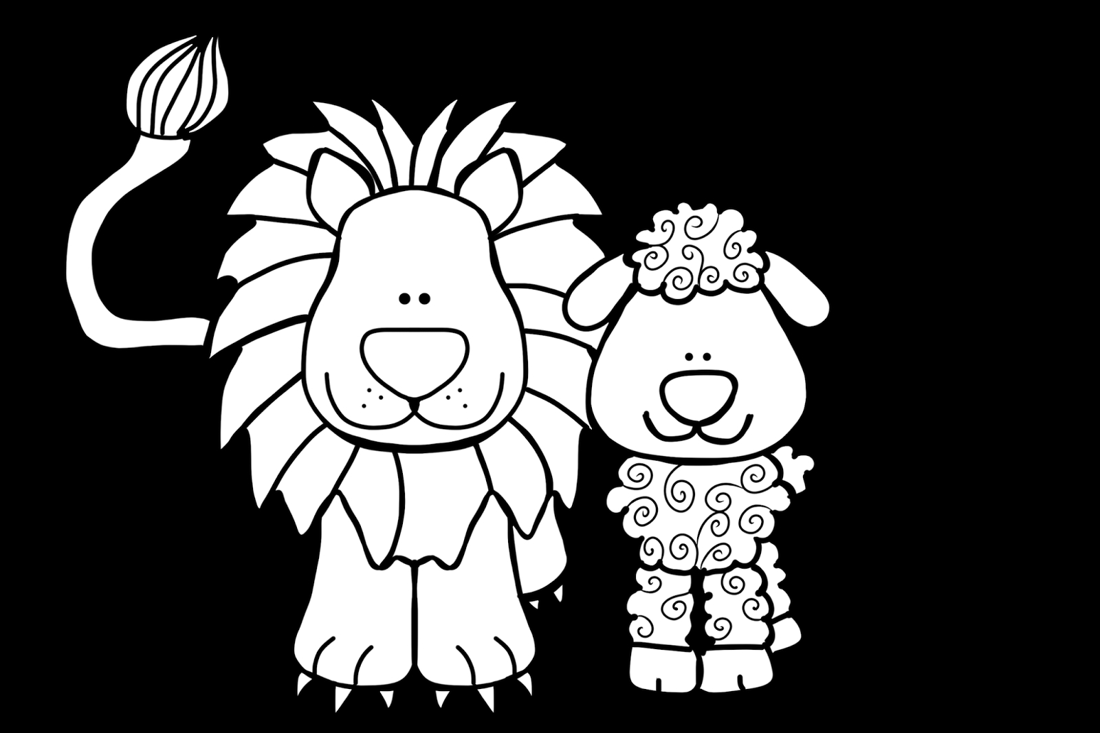 lion and lamb coloring page lion and lamb coloring pages collection free coloring sheets coloring lion lamb and page