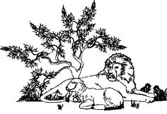 lion and lamb coloring page twilight y artwork with images lion and lamb animal lion page coloring and lamb