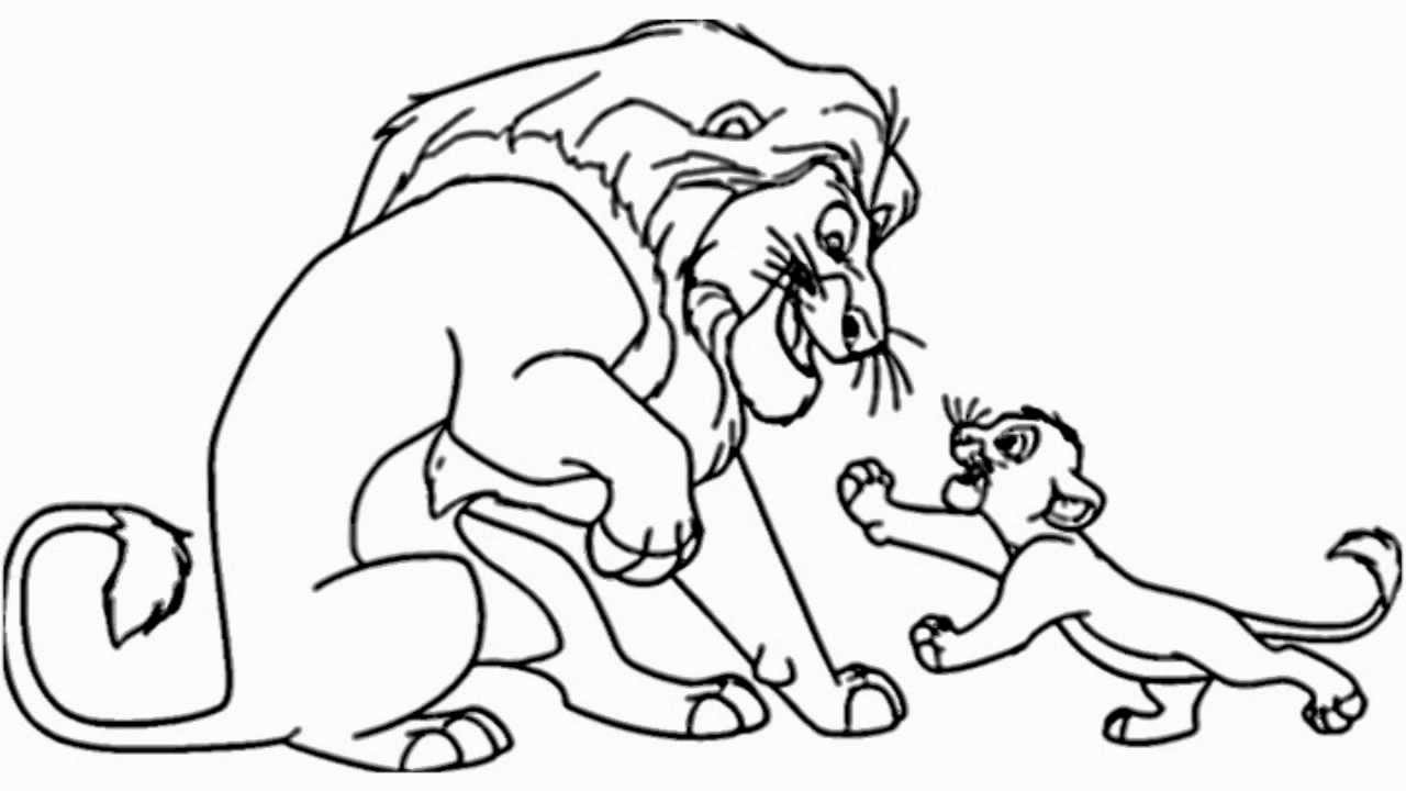 lion king simba drawing picture of simba the lion king coloring page kids play king lion simba drawing