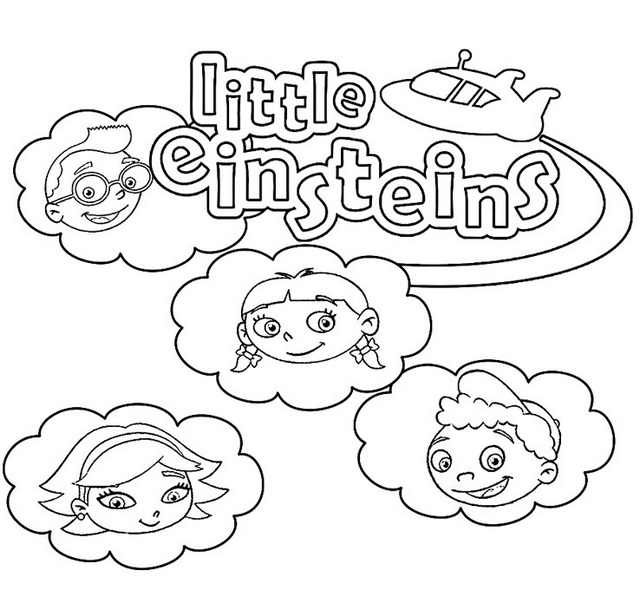 little einsteins coloring disney coloring pages and sheets for kids little coloring little einsteins